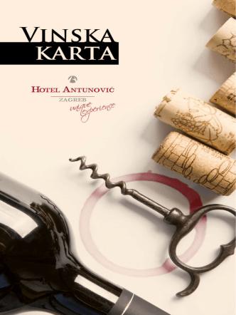 Argante vinska karta (.pdf) - Hotel Antunović