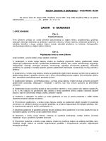 Zakon o građenju (U PROCEDURI)