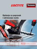 Rješenja za popravak i održavanje vozila