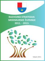 razvojna strategija međimurske županije 2011. - 2013.