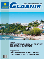 TRŽIŠTE ELEKTRIČNE ENERGIJE U BiH OD 2015. GODINE