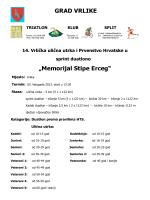 """Memorijal Stipe Erceg"" GRAD VRLIKE"