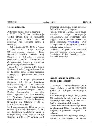 bilten24 - Hrvatska udruga za disleksiju
