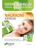 Nagradni katalog - dobrodošli u program vjernosti adiva ljekarni