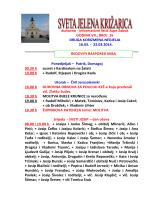 duhovno - informativni listić župe Zabok GODINA VII.; BROJ 16