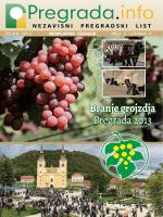 Tekst je preuzet iz tiskanog izdanja lista Pregrada.info iz rujna 2013