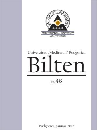 br.48 - Univerzitet `Mediteran`
