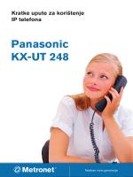 Panasonic KX-UT 248