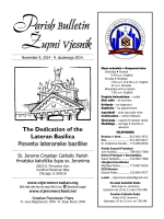 The Dedication of the Lateran Basilica Posveta lateranske bazilike