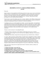 Tekst peticije i prijedlog mjera