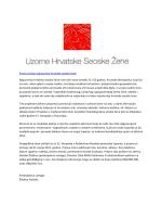 Poziv za Izbor najuzornije hrvatske seoske žene Najuzornija