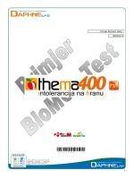 Thema 400 - Intolerancija na hranu