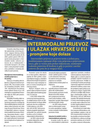 2013/04 Intermodalni prijevoz i ulazak Hrvatske u EU