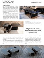 """""""Mag Rack Table - stolić s kojeg časopisi nestaju jednim pokretom"""