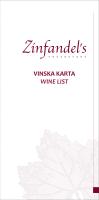 VINSKA KARTA WINE LIST - Esplanade Zagreb Hotel