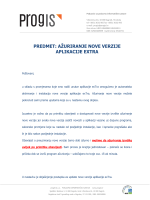 pdfexTra update - upute za pokretanje instalacije nove