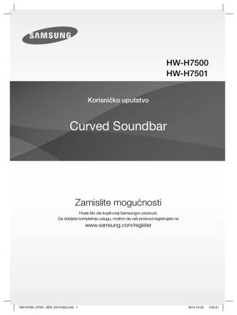 Curved Soundbar - produktinfo.conrad.com