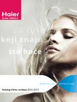 Katalog klima uređaja 2012/2013