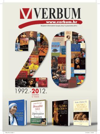 besplatni informativni časopis, broj 13, jesen/zima 2012.