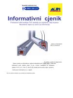 Informativni-prozori PVC EUR