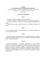 """ZAKON O PENZIJSKOM I INVALIDSKOM OSIGURANJU (""""Službeni"""