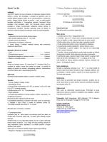 Giardia Test Set - Arnika Veterina
