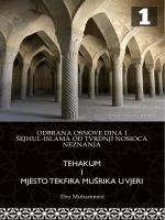 Odbrana osnove dina i šejhul-islama od tvrdnji nosioca neznanja