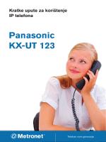 Panasonic KX-UT 123