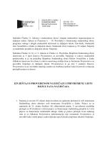 Izvještaj Povjerenstva