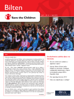 Bilten - North West Balkans | Save the Children