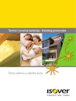 Termo i zvučna izolacija - Katalog proizvoda