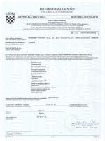 potvrda o uskladenosti document of compliance