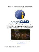 Priručnik za progeCAD na hrvatskom jeziku