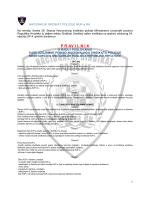 Pravilnik KUP - Nacionalni Sindikat Policije