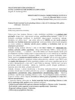 Očitovanje na radni materijal Nacrta prijedloga Zakona o radu od 19