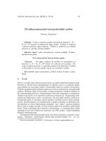 Dvodimenzionalni interpolacijski spline