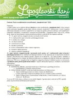 "Predmet: Poziv za sudjelovanje na manifestaciji ""Lepoglavski dani"