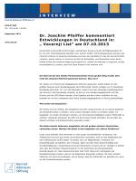 """"""" Vecernji List"""" am 07.10.2013 - Konrad-Adenauer"""