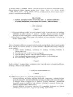 Pravilnik o uvjetima, postupku i načinu ostvarivanja prava na