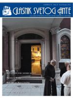 Glasnik svetog Ante 23.indd - Franjevački samostan i crkva sv. Ante