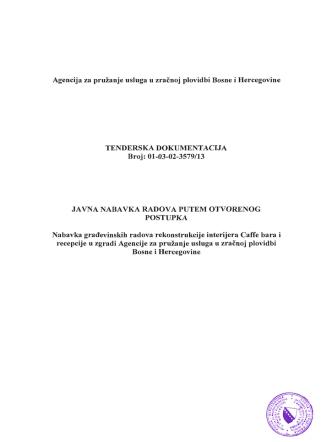 Agencija za pruzanje usluga u zracnoj plovidbi Bosne i