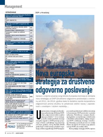 2011/11 Društveno odgovorno poslovanje u Hrvatskoj