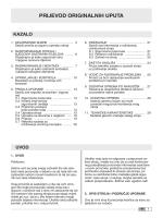 PRIJEVOD ORIGINALNIH UPUTA - Oleo-Mac