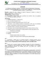 12. sjednica 06.07.2012. - Lovački savez Primorsko goranske županije