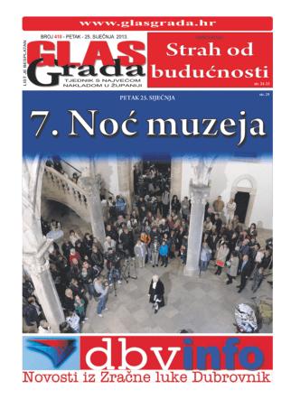 1 GlasGrada - 410 - petak 25. 1. 2013.