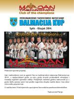 DALMACIJA KUP - Taekwondo klub Marjan