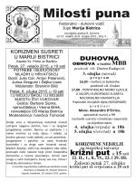 Milosti puna - Svetište Majke Božje Bistričke, Marija Bistrica