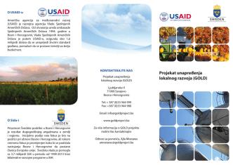 Brošura projekta