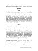deklaracija o parlamentarnoj otvorenosti