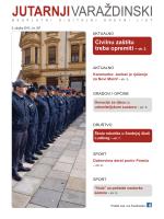 Civilnu zaštitu treba opremiti - str. 2.